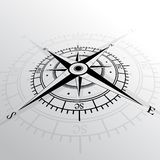 Wind rose background Royalty Free Stock Photos