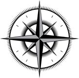 Wind rose Stock Images