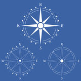 Wind rose compass.Vector illustration .Geography Royalty Free Stock Image