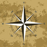 Wind rose compass Stock Image