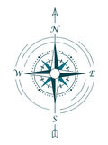 Wind rose compass Stock Photo