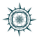 Wind rose compass Stock Photography