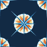 Wind rose pattern Stock Photos