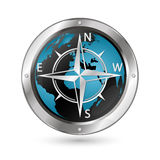 Wind rose symbol Stock Photo