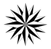 Compass compassrose marine navigation  background eps. Wind rose on  white background vector Stock Image