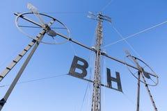 Wind semaphore Stock Image