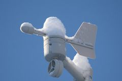 Wind sensor Stock Photo