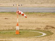 WIND SOCK AIRPORT GERMANY BERLIN TEGEL Stock Photo