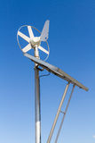 Wind and solar power system Stock Images