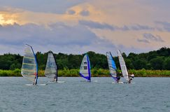 Wind Speed Sailing Royalty Free Stock Images