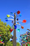 USA, Arizona: Wind Spinner Stock Photo