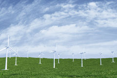 Wind station Royalty Free Stock Photography