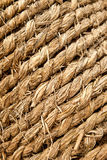 Straw rope background Stock Photo