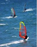 Wind-Surfen Stockbild