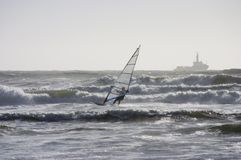 Wind-Surfer 2 Stockbild