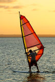 Wind-Surfer Stockfoto