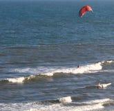 Wind surfer-Sc stock foto's