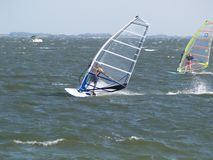 Wind Surfers Royalty-vrije Stock Foto
