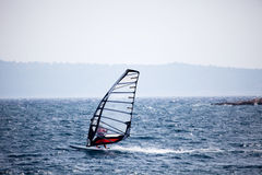 Wind Surfing Royalty Free Stock Photos
