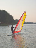 Wind surfing Stock Image