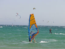 Wind Surfing stock photography
