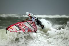 Wind Surfing, Surf, Surfing, Surfer Royalty Free Stock Photography