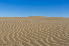 Wind swept patterns in the sand. Namibia Royalty Free Stock Photography