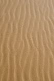 Wind swept sand. Abstract pattern of wind swept sand Royalty Free Stock Photography