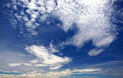 Wind Swept Sky Royalty Free Stock Photo