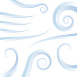 Wind swirl icons Royalty Free Stock Image