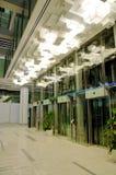 wind szklanego centrum handlowego nowy zakupy Obraz Stock