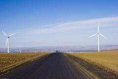 Wind-Tausendstel-Bauernhof Stockfotos