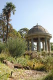Wind Temple. In the Royal Botanic Garden Melbourne, Australia Stock Photography