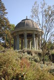 Wind Temple. In the Royal Botanic Garden Melbourne, Australia Royalty Free Stock Photos