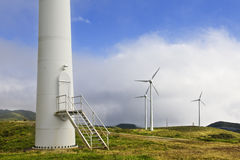 Wind tower door Stock Images