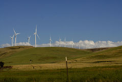 WIND TRIBUNE PARK IN GARFIELD COUNTY Stock Photography