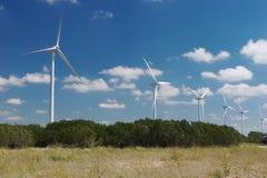Wind trubines Stock Photo