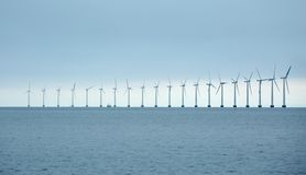Wind tubines lizenzfreies stockbild