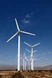 Wind Turbine. A wind turbine on a sky back ground royalty free stock photography