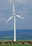 Wind-Turbine stockfoto