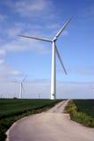 Wind Turbine. Taken in East yorkshire UK royalty free stock photo