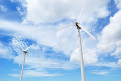 Wind turbine. This is a Wind turbine in Thailand stock image