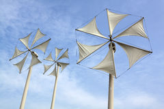 Wind turbine. Modern wind turbine in thailand Royalty Free Stock Photography