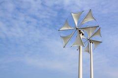 Wind turbine. Modern wind turbine in thailand Stock Photos