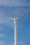 Wind Turbine Green Energy Isolated Blue Sky Royalty Free Stock Images