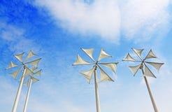 Wind turbine. Modern wind turbine in thailand Stock Image