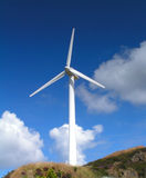 Wind Turbine. A Wind Turbine on a Windfarm stock photo