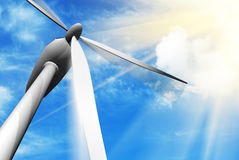 Wind turbine Royalty Free Stock Photo