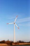 Wind turbine. S in green fields Stock Image