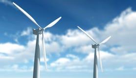 Wind-Turbine Lizenzfreie Stockfotografie